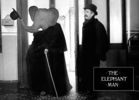 Elephant Man by quartertofour