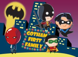 Gotham first family by Crystal-Abyss