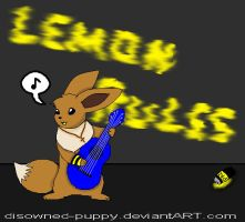 Lemonn Haz A guitarr by disowned-puppy
