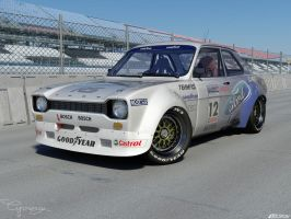 Ford Escort 5 by cipriany