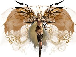 Guild Wars Angel by 3io