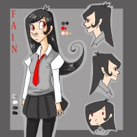 Fain - Menagerie OCT Ref by Thystle