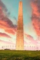Washington Monument HDR Clouds by Tyler007