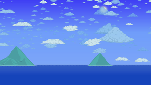Terraria - Sea Background by GT4tube