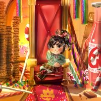 Princess Vanellope by kopso866