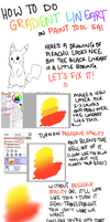 gradient lineart tutorial by aacetrainer