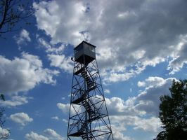 Fire Tower by dusthimself