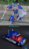 Age of Extinction Optimus Prime by Unicron9