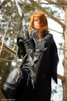 Skyrim: Nightingale Cosplay by vikkiievoltage