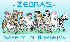 The Zebras of TLKFAA by Akril15