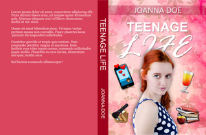 Book Cover Mockup - Teenage Life by ThePhotoLift
