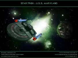 STAR TREK - U.S.S. MARYLAND by ulimann644