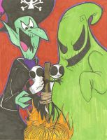 Oogie and Boogey by VivzMind