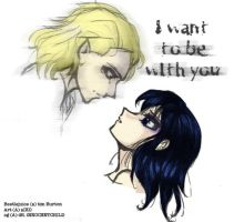 I want to be with you by aiko-shinigami