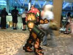 Samus Cosplay Sidescrolling by ChozoBoy