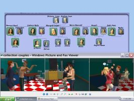 my family on The Sims2 by FlorescentMoon