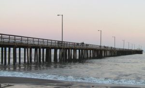 The Pier at Dusk by MogieG123