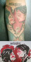 'Revenge' Tattoo by AliciaEvan