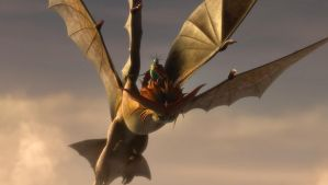 HTTYD 2:CloudJumper and Valka .2 by Lifelantern