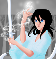 Rukia: Winter Solace by Tiuni