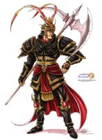 Lu Bu by artstain