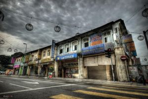 HDR - KL Archaic Shophouses 04 by mayonzz