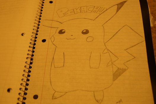My Attempted Pikachu by IcyRose1017