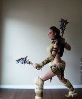 Forsworn (Skyrim) - Battle Cry by YelainaMayCosplay