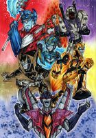 Transformers Animated by Lennylein
