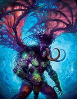 Demon Hunter Illidan by HeeWonLee