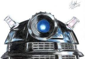 Dalek Sec watches you by Ralphmax