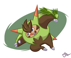 ''Quillidan used Needle Arm!'' by cavemonster