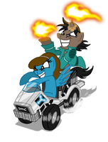 Pony Kart -ENTRY- by Niban-Destikim