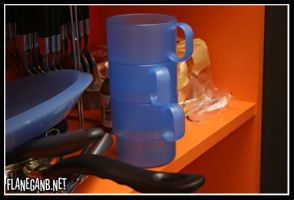 Blue Cup by Flanegan