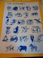 Animal Alphabet Print by aislingkc