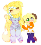 ~..Almost.Sis.And.Bro..~ by iLiekSkittlez