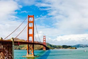 Beautiful Golden Gate Bridge by xelement