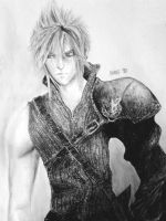 FF7 - Cloud Strife by Dark4Light