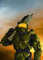 my halo soldier painting by shugo-89