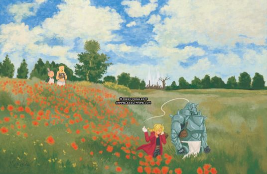 Resembool (Poppy Field) by missypena
