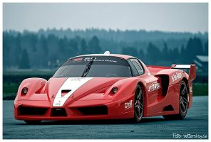 The Ferrari FXX by PvP