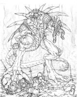 Diablo-rough pencils by chitototoy