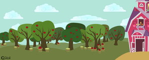 Sweet Apple Acres Background by MrQuallzin