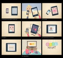 Baby Night Styleframes by Clotaire
