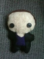 9th Doctor Plushie by CheesyHipster