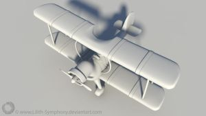 Plane Winged Wranglers - Top View by Lilith-Symphony