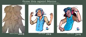 tentacool Before and After 2014 by Toxandreev