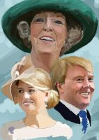 Netherlands' royal family by TinyTrapdoor