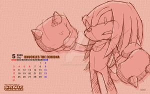 Knuckles Echidna Wallpaper by Aniken-Style