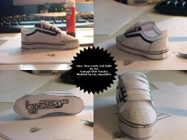 Vans shoe model by typeZER0